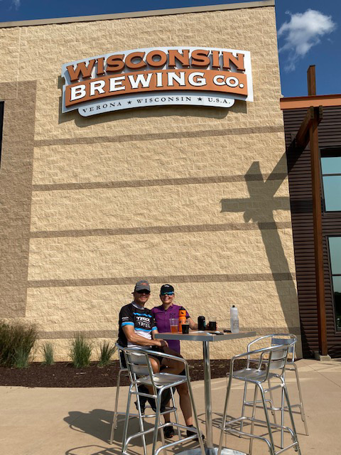 Brewery hopping on bikes